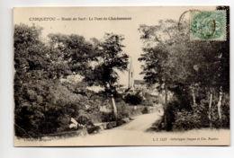 CP29275 - Carquefou - Route De Sucé – Le Pont De Charbonneau - Voyagée - Carquefou