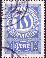 Österreich Austria Autriche - Portomarken/taxe (MiNr: 91 X) 1921 - Gest Used Obl - Portomarken