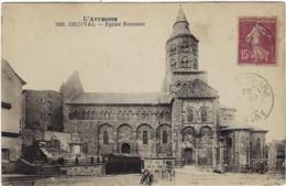 63  Orcival  Eglise Romane - Otros Municipios