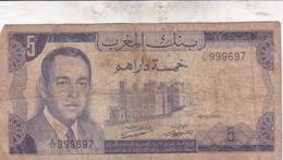MAROC / 5 DIRHAMS 1970 - Marocco