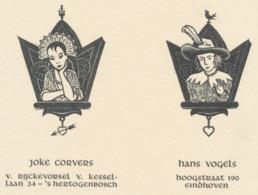 Verlovingskaart Harry Corvers (1913-1982) - Verlobung