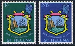 Sainte-Hélène - Nouvelle Constitution 181/182 (année 1967) ** - Sainte-Hélène