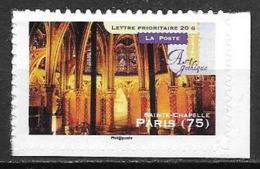 France 2011 Timbre Adhésif Neuf N°562A Ste Chapelle Paris à La Faciale - KlebeBriefmarken