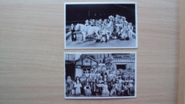 GERMANIA GERMANY 2 POST CARD CIRCO CIRCUS STADT LILLIPUT - Non Classificati