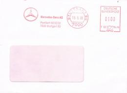 Deutschland Freistempel Stuttgart - Mercedes Benz, Auto, Car Industrie - Meterstamp, EMA - BRD