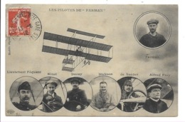 Les Pilotes Du Farman. - Aviation