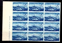 Espagne YT N° 624 En Bloc De Douze Timbres Non Dentelés Neufs ** MNH. TB. A Saisir! - 1931-50 Neufs