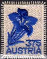 2008 Austria - Enzian (Gentiana Sp.) - Embrodery Stamp - Odd Stamp - MNH** MI 2773 - 1945-.... 2a Repubblica