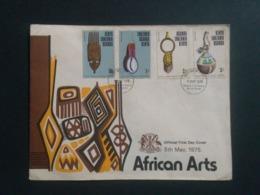 KUT AFRICAN ARTIFACTS FDC 1975 !! - Art