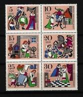 DDR Mi-Nr. 1323 - 1328 Sechserblock Märchen König Drosselbart Postfrisch - [6] República Democrática