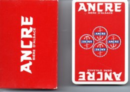 Ancre Bière D'alsace Beer Jeu  De 32 Cartes Publicitaire ANCRE - 32 Karten