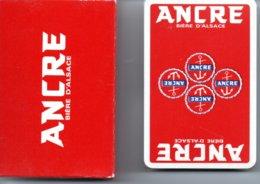 Ancre Bière D'alsace Beer Jeu  De 32 Cartes Publicitaire ANCRE - 32 Cartes