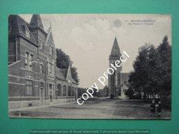 Beverlo Bourg Leopold La Poste Et L'Eglise - Beringen