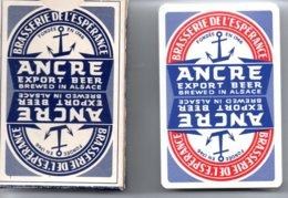 Ancre Bière Beer - BRASSERIE DE L'ESPERANCE Jeu  De 32 Cartes Publicitaire - 32 Karten