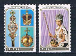Bahamas 1978 Königin Mi.Nr. 432/33 Kpl. Satz ** - Bahamas (1973-...)