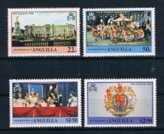 Anguilla 1978 Königin Mi.Nr. 313/16 Kpl. Satz ** - Anguilla (1968-...)