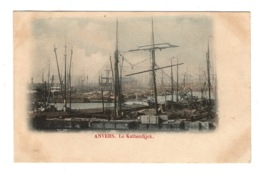 BELGIQUE - ANVERS Le Kattendijck, Pionnière Aquarellée - Antwerpen