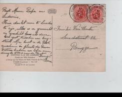 CBPN19/ TP 282(2) S/CP Institut Notre Dame De Lourdes Yvoir C.Convoyeur Train 1208 17/8/1932 > Brugge - Ambulants