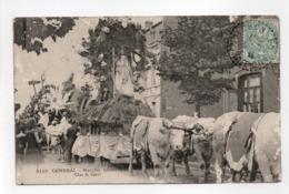 - CPA CAMBRAI (59) - Marche Historique 1907 - Char De Cérès (belle Animation) - Edition J. D. V. 4119 - - Cambrai