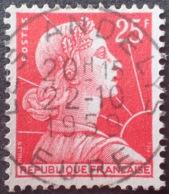 R1591/642 - 1959 - TYPE MARIANNE DE MULLER - N°1011C (I) - Beau CàD Des LES ANDELYS (Eure) Du 22 OCTOBRE 1959 - Oblitérés