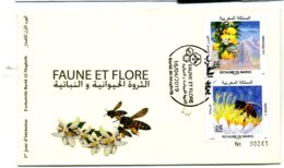 2019 Y&T N° FDC Faune Et Flore - Marocco (1956-...)