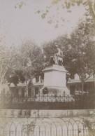 France Avignon Statue Philippe De Girard Ancienne Photo 1890 - Antiche (ante 1900)
