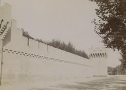 France Avignon Les Remparts Ancienne Photo 1890 - Photos