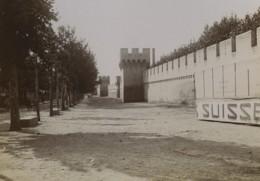 France Avignon Les Remparts Ancienne Photo 1890 - Antiche (ante 1900)