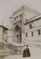 France Avignon Eglise St Agricol Church 2 Elegantes Ancienne Photo 1890 - Antiche (ante 1900)