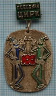 USSR / Badge / Soviet Union / Ukraine. ODESSA Circus 100 Years. Clowns . - Associazioni