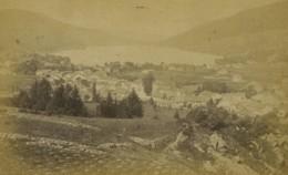 France Gerardmer Panorama Lac Et Ville Ancienne Photo Carte Cabinet Neurdein 1890 - Photos