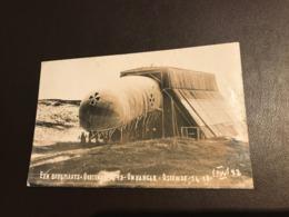Oostende - Ostende -  Bergplaats Hangar Militärluftschiff Zeppelin Weltkrieg Guerre Worldwar 14-18 - Dirigeables