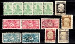 Fiume Petite Collection Neufs **/*/oblitérés 1919/1923. Bonnes Valeurs. B/TB. A Saisir! - Fiume