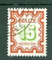 Belize: 1976   Postage Due    SG D9   15c     Used - Belize (1973-...)