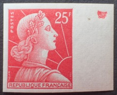 R1591/649 - 1959 - TYPE MARIANNE DE MULLER - NON DENTELE - N°1011C (I) NEUF** BdF LUXE - Francia
