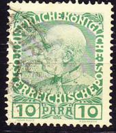 Österreich Austria Autriche LEVANTE - 60 Jahre Kaiser Franz Joseph (MiNr: 53) 1908 - Gest Used Obl - Levante-Marken