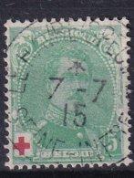 Ca Nr 129 Gestempeld - 1914-1915 Red Cross