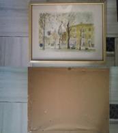 Quadro(14)stampa Michel Cascella + Cornice (A) - Stampe