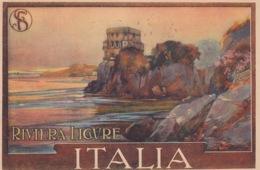Liguria - Genova - Riviera Ligure  - Cartolina Precedente Enit -- Bella - Italie