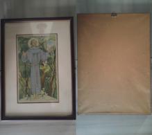 Quadro(16)stampa San Francesco M.Battigelli + Cornice (A) - Stampe