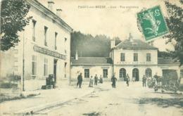 (55) Pagny-sur-Meuse : Gare - Vue Extérieure  (animée) - France