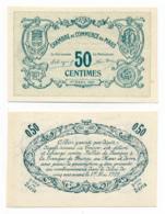 1914-1918 // C.D.C. // LE MANS // Mars 1917 // SPECIMEN  // Cinquante Centimes //  Filigrane Abeilles - Fictifs & Spécimens