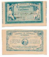 1914-1918 // C.D.C. // MARSEILLE // Août 1914 // ANNULE  // Cinquante Centimes // Sans Filigrane - Fictifs & Spécimens