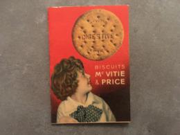 PETIT CALENDRIER 1936 BISCUIT MC VITIE ET PRICE - Kalenders
