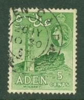 Aden: 1953/63   QE II - Pictorial    SG48   5c   Yellowish Green  Used - Aden (1854-1963)