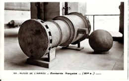 MUSEE DE L' ARMEE  - BOMBARDE   FRANCAISE - - Ausrüstung