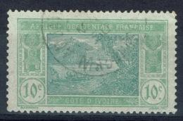 Ivory Coast, 10c., Ebrié Lagoon, 1922, VFU - Ivory Coast (1892-1944)