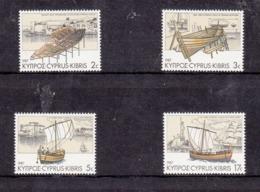 Cyprus 1987 Mi Nr 683 - 686 : Schip, Ship, Kyrenia II - Chipre (República)