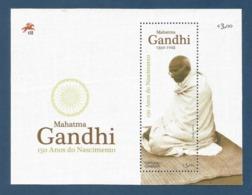 Portugal 2019 , 150 Anos Nascimento Mahatma Gandhi - Block - Postfrisch / MNH / (**) - Ungebraucht