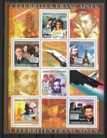 UNION DES COMORES 2009 CELEBRITES-DE GAULLE-NAPOLEON-CONCORDE  YVERT N°1571/76   NEUF MNH** - Napoleon